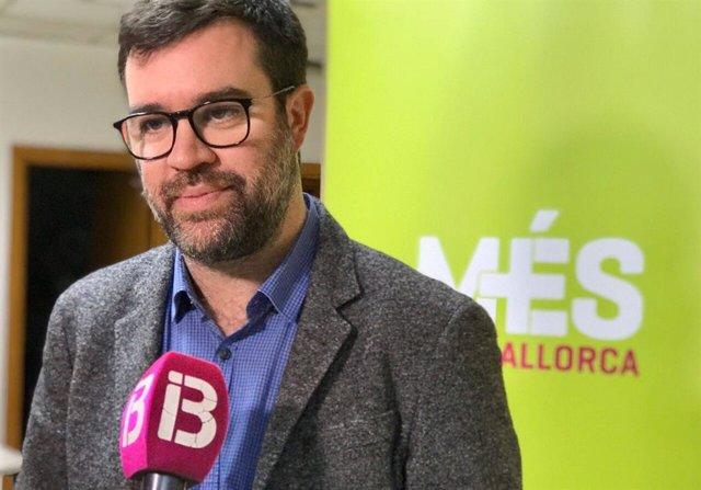 El coordinador de MÉS per Mallorca, Antoni Noguera.