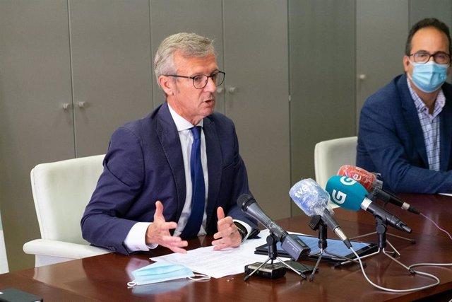 Fotos Xunta Vicepresidente Balance Da Xornada Electoral
