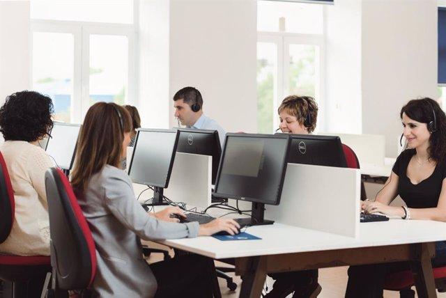 Miembros del Equipo Contact Center Lanalden