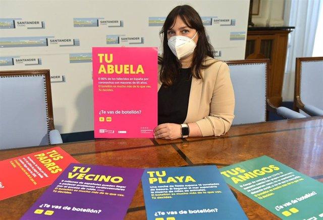 Concejala de Juventud presenta la campaña Tú decides contra el botellón