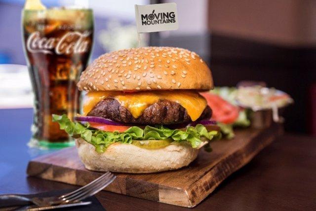 Hamburguesas veganas en Tony Roma's y Tommy Mel's