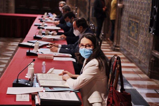 La vicepresidenta valenciana y consejera de Igualdad y Políticas Inclusivas, Mónica Oltra