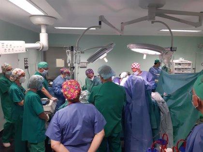 Cuatro pacientes se benefician de una donación multiorgánica en el Hospital Alto Guadalquivir, en Andújar