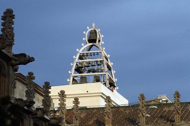 Carillón del Palau de la Generalitat que tiene 49 campanas y un peso total de 4.898 kilos