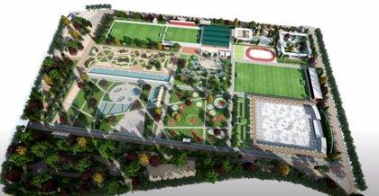 El Ayuntamiento entrega la licencia para comenzar las obras del parque sobre el tercer depósito del Canal de Isabel II