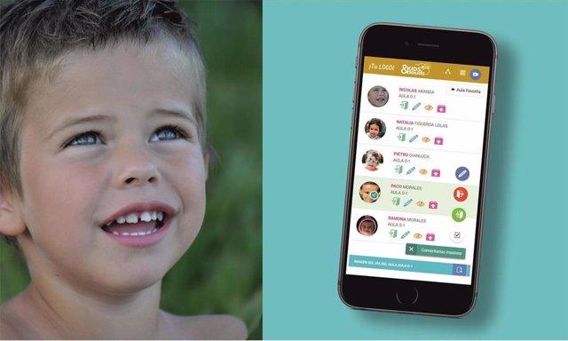 Kids&Clouds, la aplicación pionera en la comunicación familia-escuela facilita evitar el contacto de manera presencial