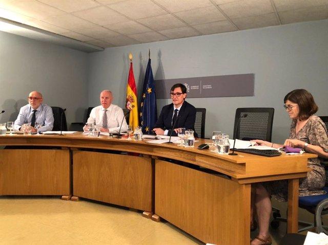 """Ministerio de Sanidad y las CCAA aprueban el """"Plan de respuesta temprana en un escenario de control de la pandemia por COVID-19"""", en reunión del Consejo Interterritorial del Sistema Nacional de Salud del 16 de julio de 2020."""