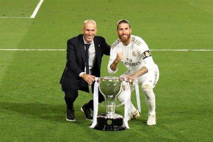 """Zidane: """"Lo que consiguieron los jugadores después de casi dos meses en casa es la hostia"""""""