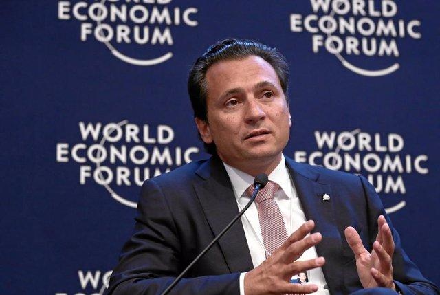 México.- El exdirector general de Pemex Emilio Lozoya llega a México procedente