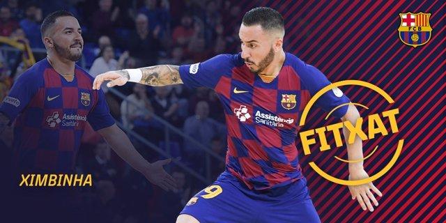 Fútbol sala.- El Barça ejerce la compra sobre el cedido Ximbinha