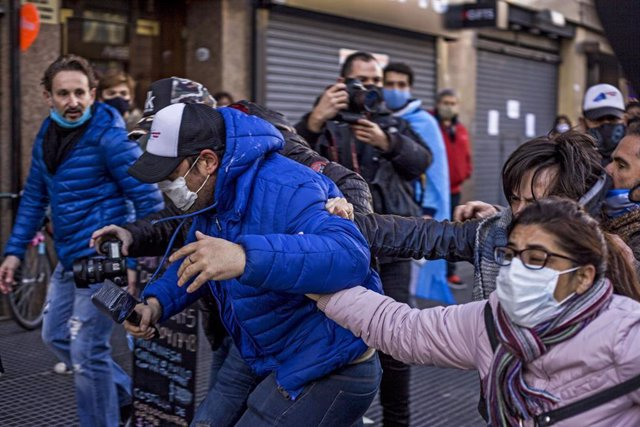 Protestas en Argentina durante la pandemia de coronavirus