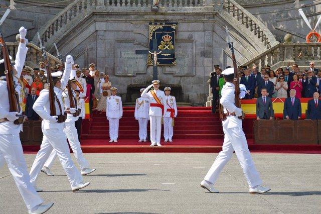 El Rey no acudirá a los actos de entrega de despachos militares a los nuevos mie