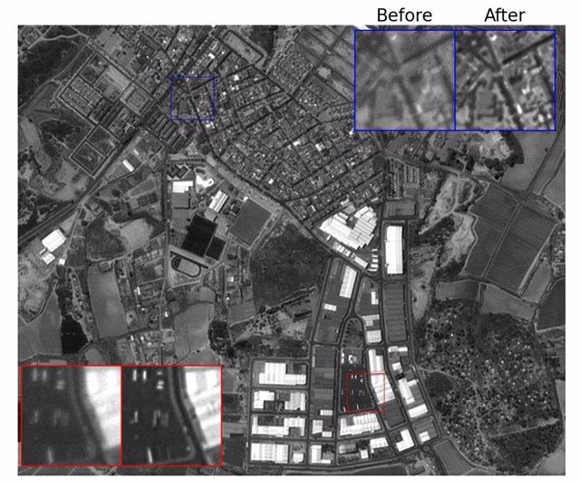 La primera mini-cámara espacial óptica toma 20.000 imágenes en un mes
