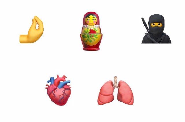 Apple muestra los nuevos emojis que llegarán con iOS 14