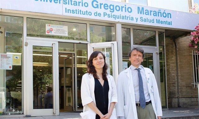 Investigadores del Instituto de Psiquiatría y Salud Mental del Hospital Gregorio Marañón y del CIBERSAM, Carmen Moreno y Celso Arango.