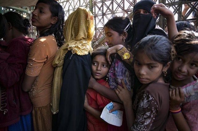 Bangladesh.- Oxfam advierte del peligro de inundaciones para los refugiados rohi