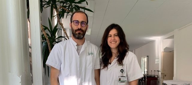 Sergio Rodríguez-Tajes y Anna Baiges, dos de los autores del estudio