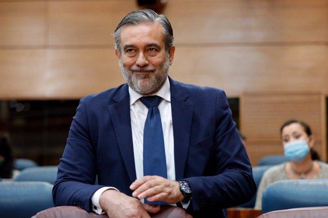 El conseller d'Interior de la Comunitat de Madrid, Enrique López. Madrid, (Espanya), 18 de juny del 2020.