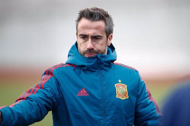 Jorge Vilda, seleccionador español de fútbol femenino
