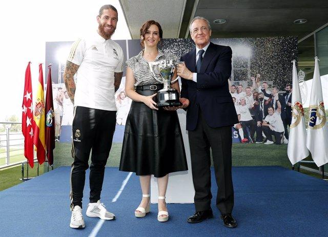 """VÍDEO: Florentino Pérez: """"Esta Liga es más que nunca un símbolo frente a la adve"""