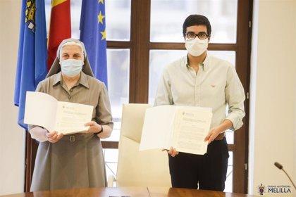 Melilla impone el uso obligatorio de las mascarillas a partir del lunes con multas de 100 euros a quienes no las lleven