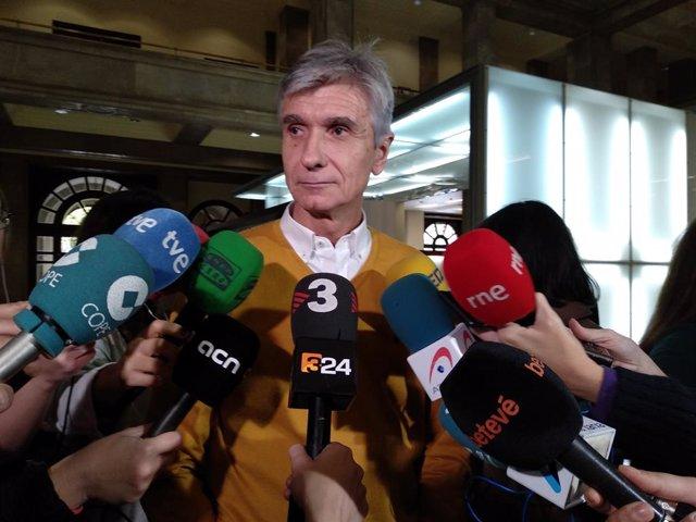El director gerent de l'Institut Català de la Salut (ICS), Josep Maria Argimon