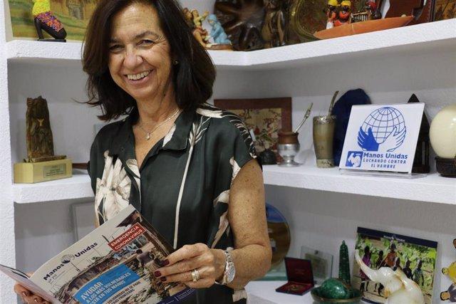 La presidenta de Manos Unidas, Clara Pardo