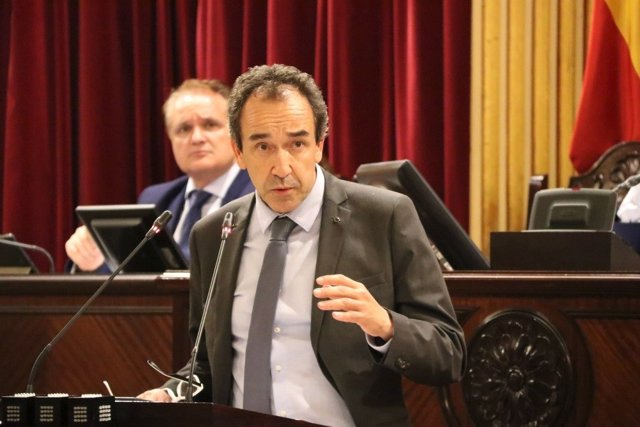 El diputado de Cs Baleares, Juanma Gómez.