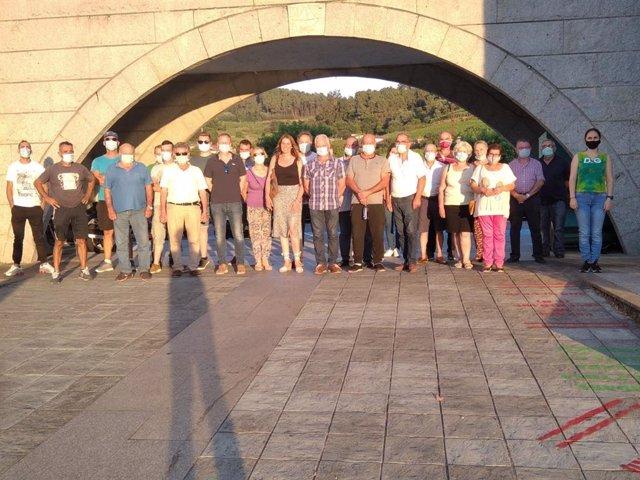 Socialistas celebran un encuentro en Castrelo de Miño (Ourense).