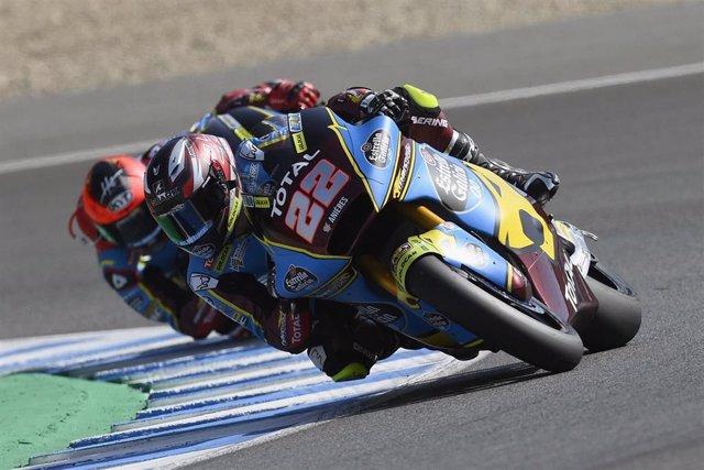 El piloto inglés de Moto2 Sam Lowes