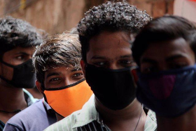 Coronavirus.- India marca un nuevo récord diario de contagios con casi 39.000 nu