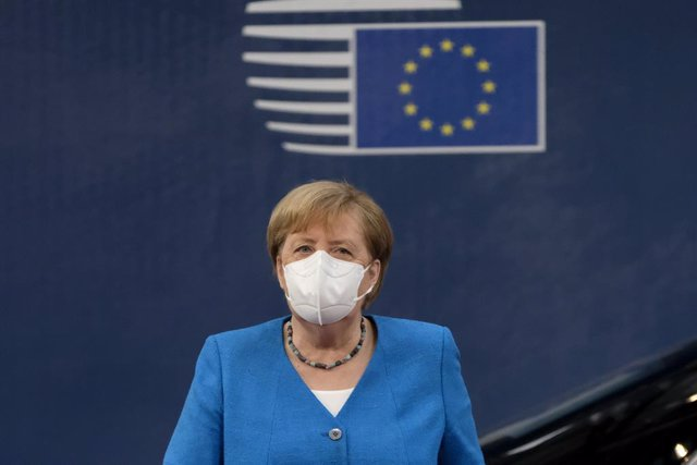 La canciller alemana, Angela Merkel, en Bruselas