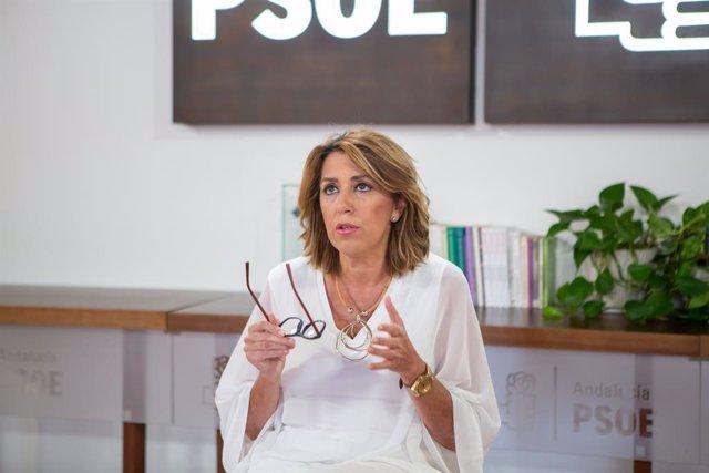 """Susana Díaz pide a la Casa Real una respuesta """"contundente, inmediata y ejemplar"""