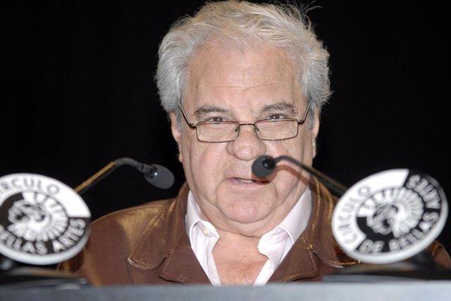 Juan Marsé em 2009 durante la inauguración de una lectura continuada del Quijote