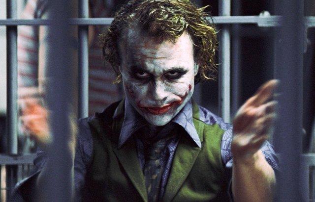 Joker (Heath Ledger) en El caballero oscuro