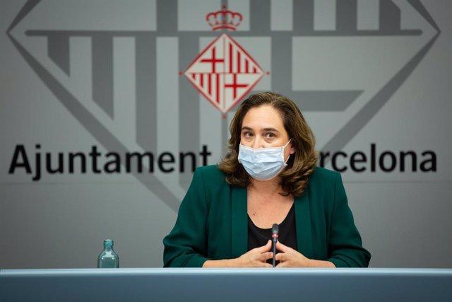 L'alcaldessa Ada Colau