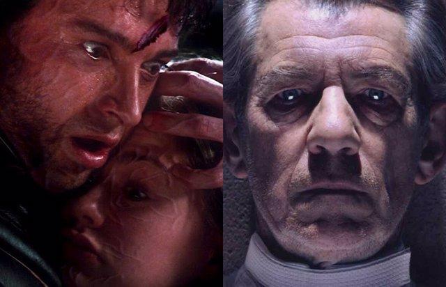 Lobezno y Magneto en X-Men