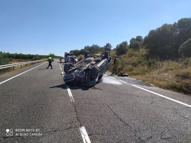Mor un conductor en la C-13 a La Sentiu de Sió (Lleida)