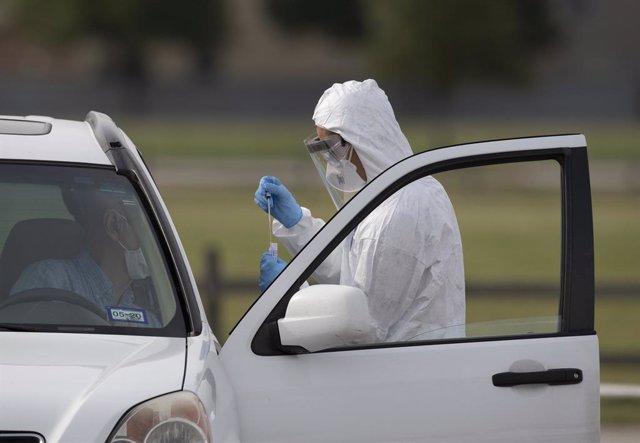 Coronavirus.- Texas anuncia el despliegue de cinco equipos militares para combat