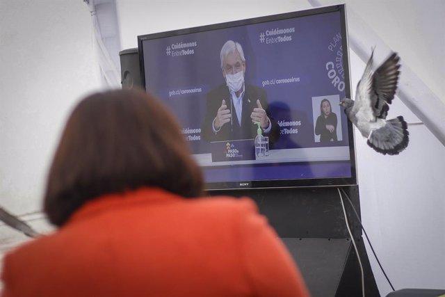 "Coronavirus.- Chile presenta un plan de desescalada tras ""cinco semanas de mejor"