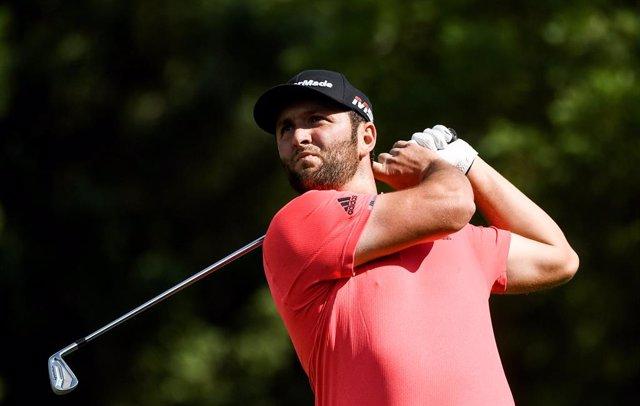 Golf.- El español Rahm gana el Memorial para ser el mejor del mundo