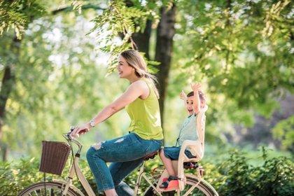 Cuando seas padre... seguirás montando en bicicleta