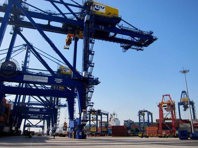 Contenidors, contenidor, port, exportació, exportacions.