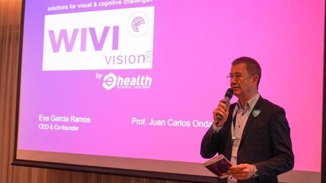 Imagen de la presentación de WIVI Vision por NOG.