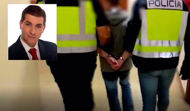 Imágenes de la detención de César Román Virueta, el conocido como Rey del cachopo