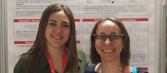 Sandra García y Rebeca Sanz, investigadoras del CIBERESP en IDIBELL