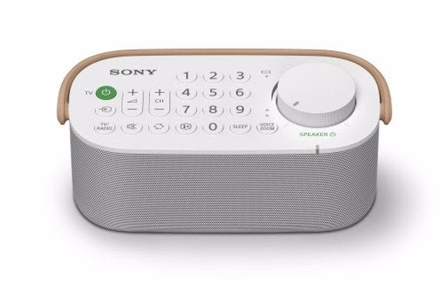 El nuevo altavoz inalámbrico de Sony integra un mando para escuchar la televisió