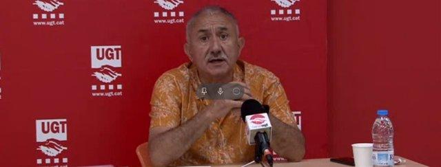 El secretari general de la UGT, Josep Maria Álvarez