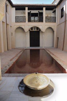 Interior de la Casa Zafra de Granada