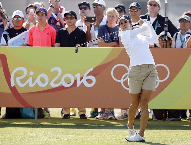 """Golf.- Azahara Muñoz: """"No me quiero ni imaginar ganar las Olimpiadas"""""""